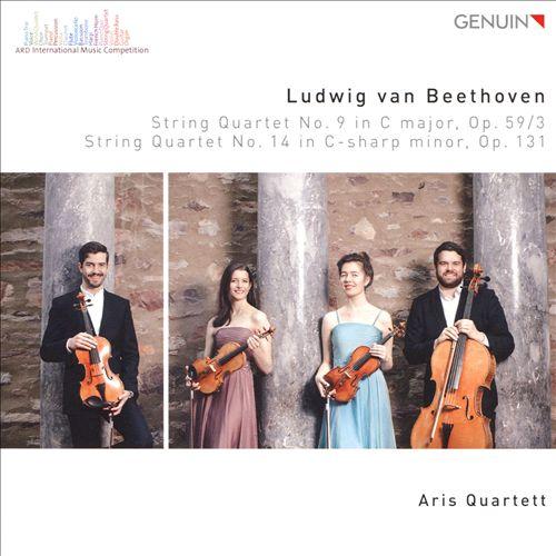Ludwig van Beethoven: String Quartet No. 9 in C major, Op. 59/3; String Quartet No. 14 in C-sharp minor, Op. 131