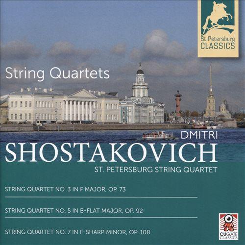 Shostakovich: String Quartets 3, 5 & 7
