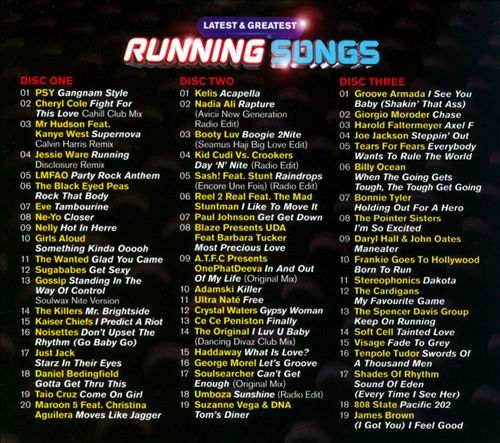 Latest & Greatest Running Songs