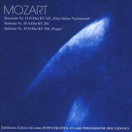"""Mozart: Serenade No. 13 """"Eine kleine Nachtmusik""""; Sinfonies Nos. 29 & 38 """"Prager"""""""