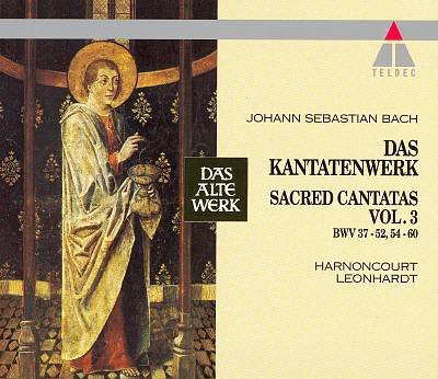 Bach: Das Kantatenwerk, Vol. 3 BWV 37 - 52, 54 - 60