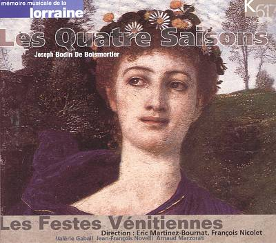Joseph Bodin de Boismortier: Les Quatre Saisons
