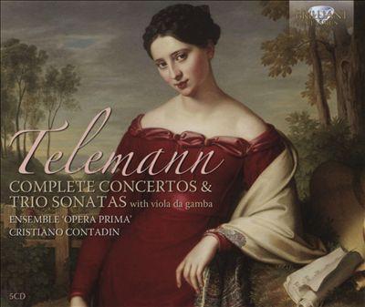 Telemann: Complete Concertos & Trio Sonatas with viola da gamba