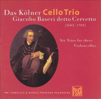 Basevi: Cello Trios