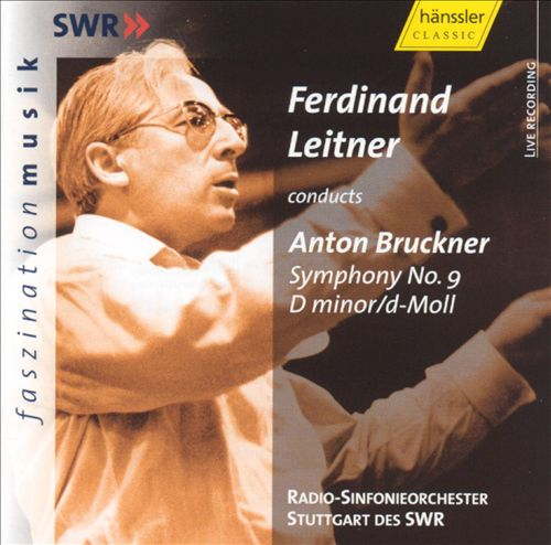 Ferdinand Leitner conducts Anton Bruckner Symphony No. 9