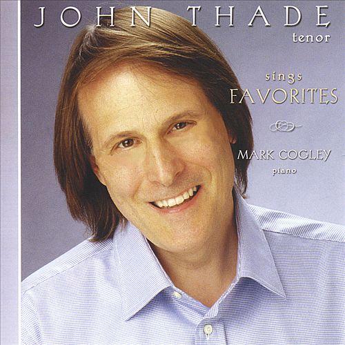 John Thade sings favorites