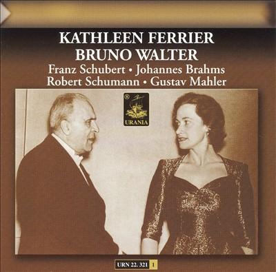 Schubert, Brahms, Schumann, Mahler: Lieder