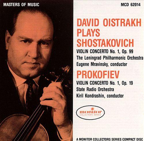 David Oistrakh plays Shostakovich and Prokofiev