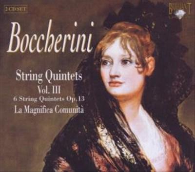 Boccherini: String Quintets Vol. 3