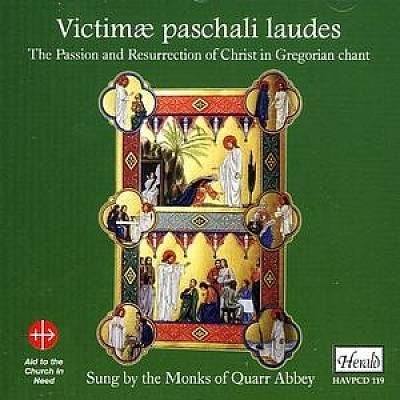 Victimae paschali laudes: The Passion and Resurrection of Christ in Gregorian Chant