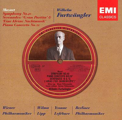 Mozart: Symphony No. 40; Serenades; Piano Concerto No. 20