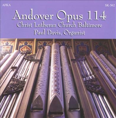 Andover Opus 114