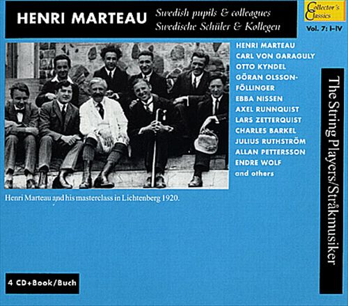 Marteau: His Swedish Pupils and Colleagues