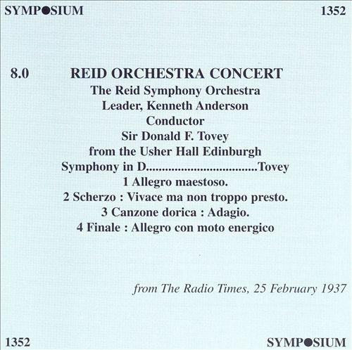 Reid Orchestra Concert