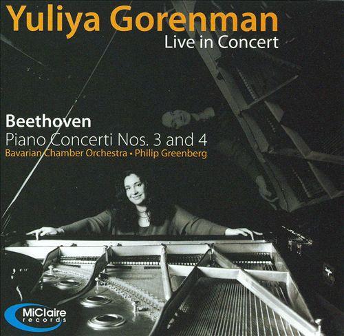 Beethoven: Piano Concerti Nos. 3 & 4