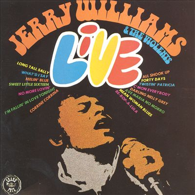 Jerry Williams & the Violents: Live