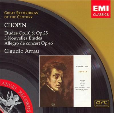 Chopin: Études; Allegro de Concert