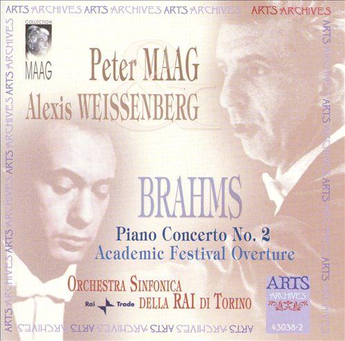 Brahms: Piano Concerto No. 2; Academic Festival Overture