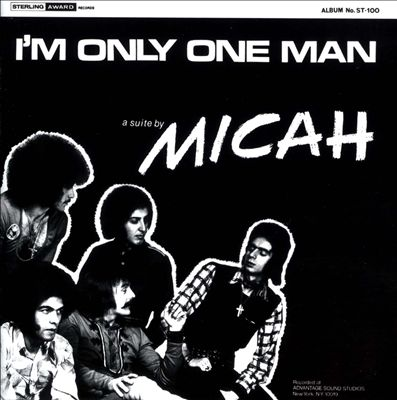 I'm Only One Man