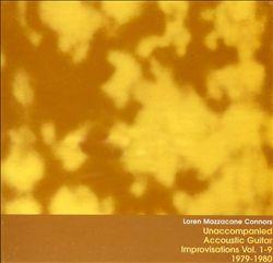 Unaccompanied Acoustic Guitar Improvisations, Vols. 1-9: 1979-1980