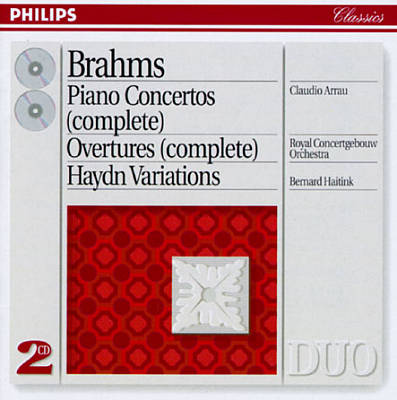 Brahms: Piano Concertos (complete); Overtures (complete); Haydn Variations