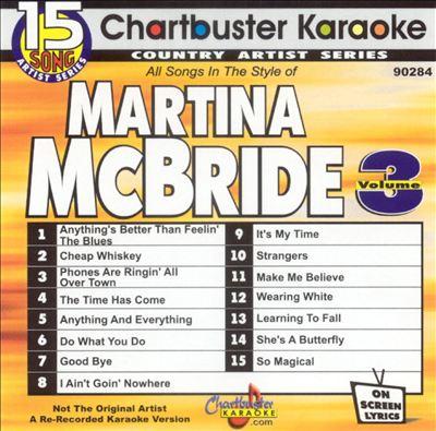 Chartbuster Karaoke: Martina McBride, Vol. 3 [15 Tracks]