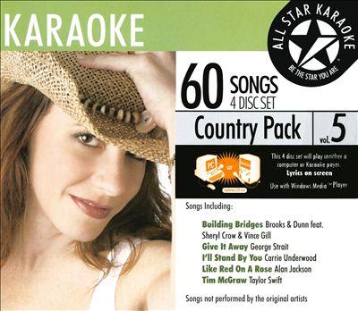 Karaoke: Country Pack, Vol. 5