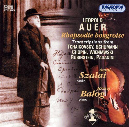Leopold Auer: Rhapsodie hongroise