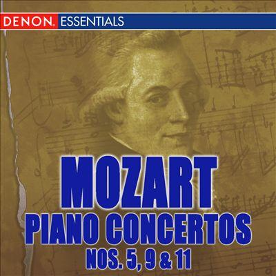 Mozart: Piano Concertos Nos. 5, 9, & 11