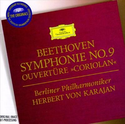 """Beethoven: Symphonie No. 9 [1962]; Ouvertüre """"Coriolan"""""""