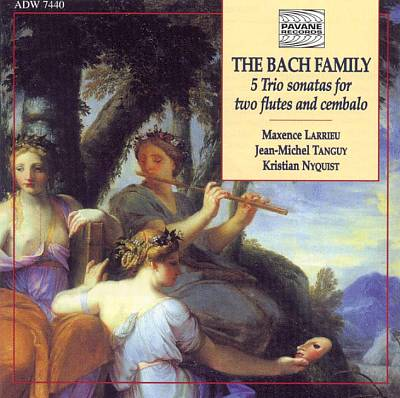 The Bach Family: Sonatas for Two Flutes and Cembalo