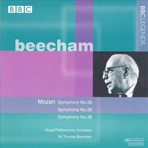 Mozart: Symphonies Nos. 35, 29, 38