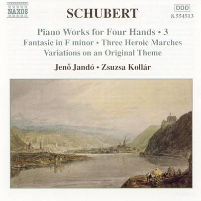 Schubert: Piano Works for Four Hands, Vol. 3
