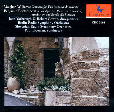 Vaughan Williams: Concerto for Two Pianos & Orchestra; Benjamin Britten: Scottish Ballad; Introduction & Rondo