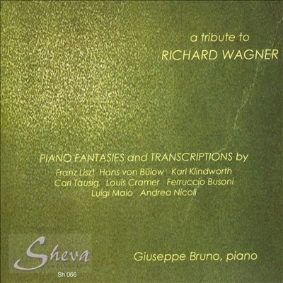 A Tribute to Richard Wagner: Piano Fantasies & Transcriptions