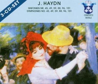 Haydn: Symphonies Nos. 45, 49, 59, 88, 96 & 101 [Germany]