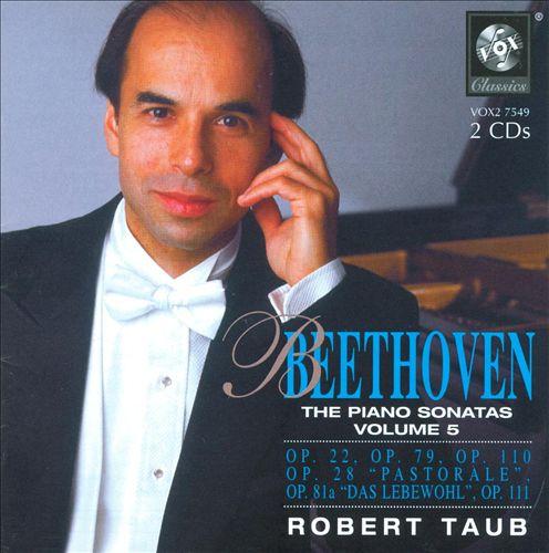Beethoven: Piano Sonatas, Vol.5