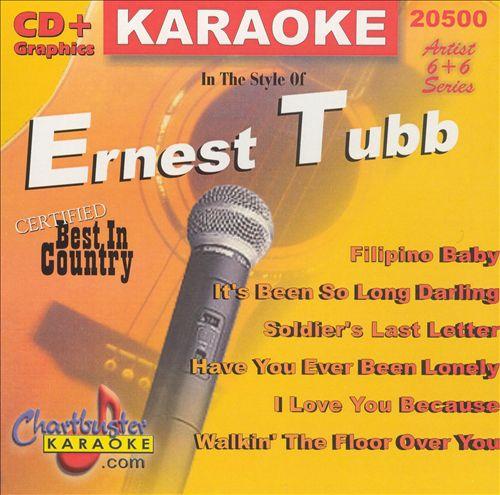 Chartbuster Karaoke: Ernest Tubb