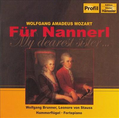 Mozart: Für Nannerl