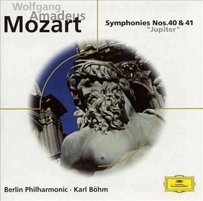 Mozart: Symphonies Nos. 40 and 41