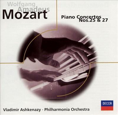 Mozart: Piano Concertos Nos. 25 and 27