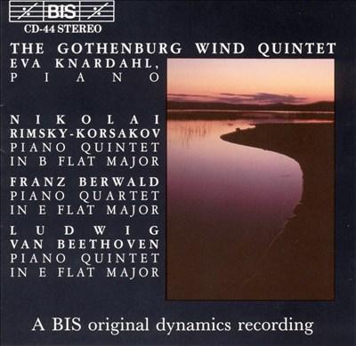 Rimsky-Korsakov, Berwald, Beethoven: Piano Quintets