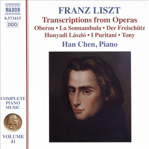 Franz Liszt: Transcriptions from Opera
