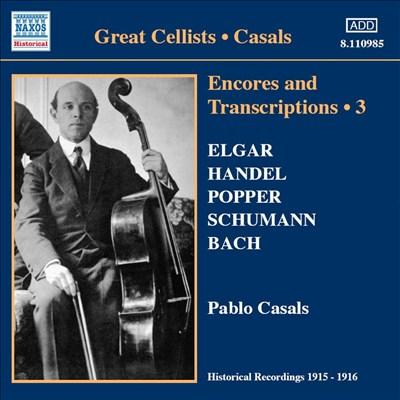 Encores And Transcriptions 3