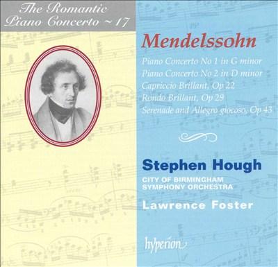Mendelssohn: Piano Concerti Nos. 1 & 2; Capriccio Brillant; Rondo Brillant