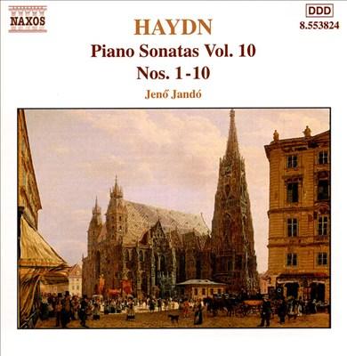 Haydn: Piano Sonatas Nos. 1-10