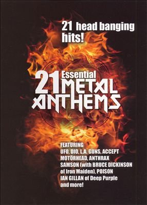 21 Essential Metal Anthems [DVD]
