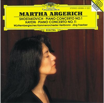 Shostakovich: Concerto for Piano, Trumpet and String Orchestra, Op. 35; Haydn: Concerto for Piano and Orchestra in D