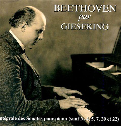 Beethoven par Gieseking