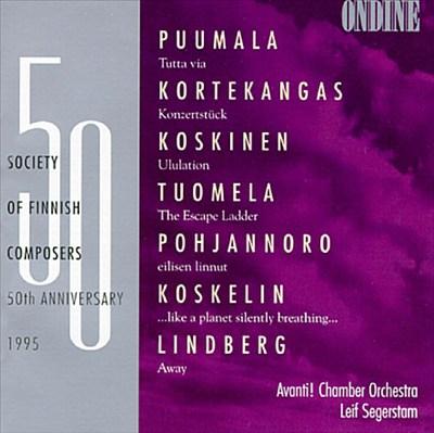Society of Finnish Composers 50th Anniversary (1995): Avanti! Quartet & Leif Segerstam